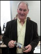 John Stedman in classroom